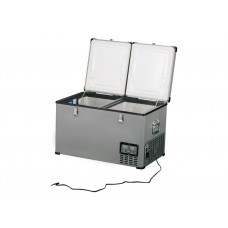 Frigider-congelator 2 compartimente indelB Travel Box 65 Steel